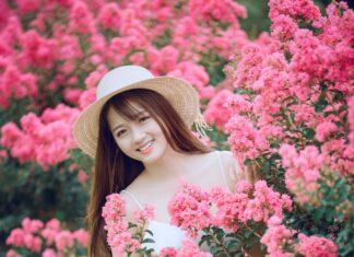 Sukienka, kwiaty